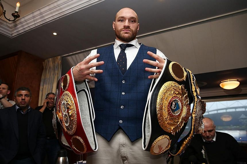 Tyson Fury, a champion of three belts, is being investigated by the police after making comments about homosexuality.