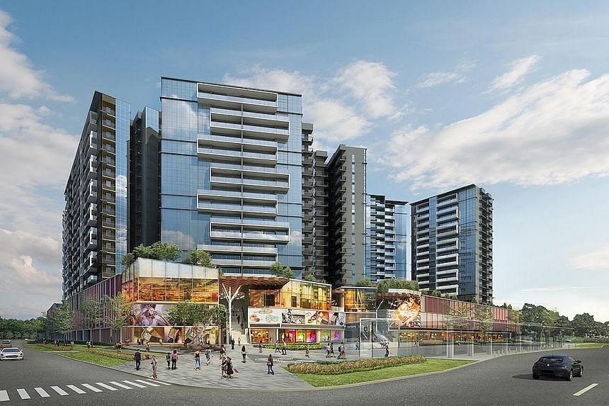 MCC Land's The Poiz Residences and The Poiz Centre. The developer has chalked up a tidy number of sales this year, up 55 per cent from last year.