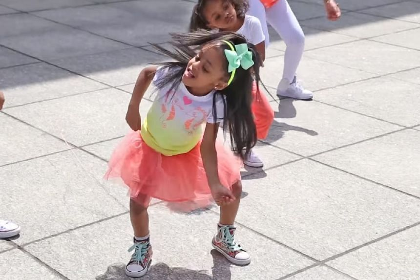 The video featuring the girl and her dance crew performing choreography to rapper Silento's Watch Me was viewed more than 116 million times, YouTube said.
