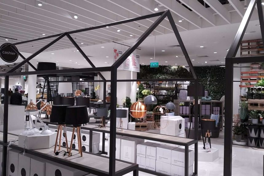Harvey Norman has expanded its flagship store space at Millenia Walk.