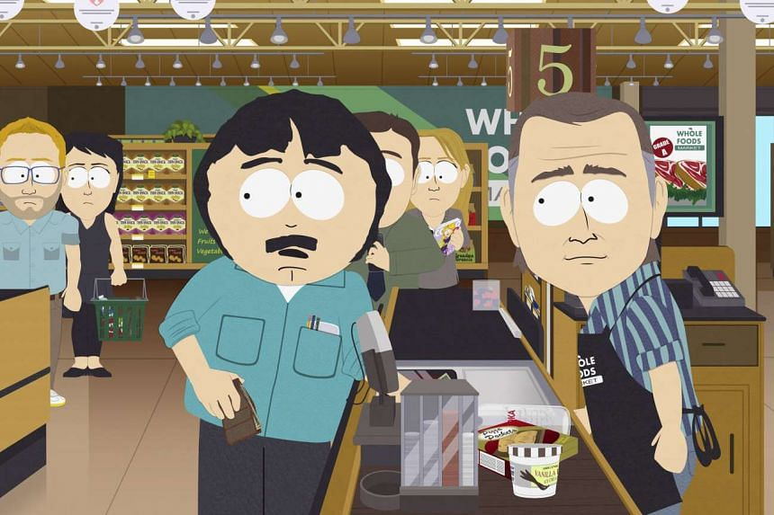 A scene from Safe Space, an episode in the current season of South Park.