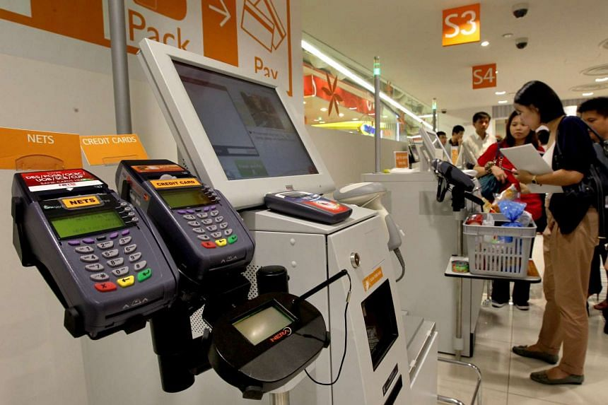 All the thefts were at self-checkout counters.