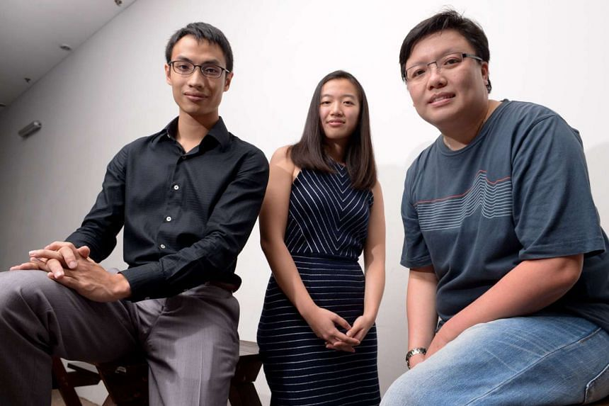Activists (from left) Damien Chng, Priscilla Chia and Jean Chong are among a group of five who are heading to Geneva to lobby foreign government on human rights in Singapore.