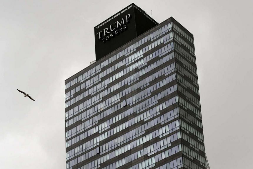 The residence tower of Trump Towers Istanbul.