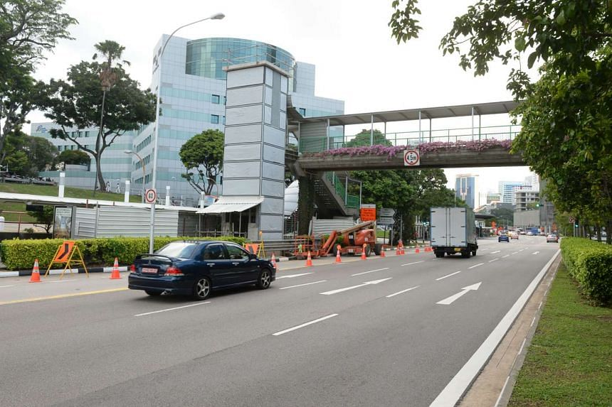 Galen Ong was hit by a car on Eu Tong Sen Street at around 6.30pm.