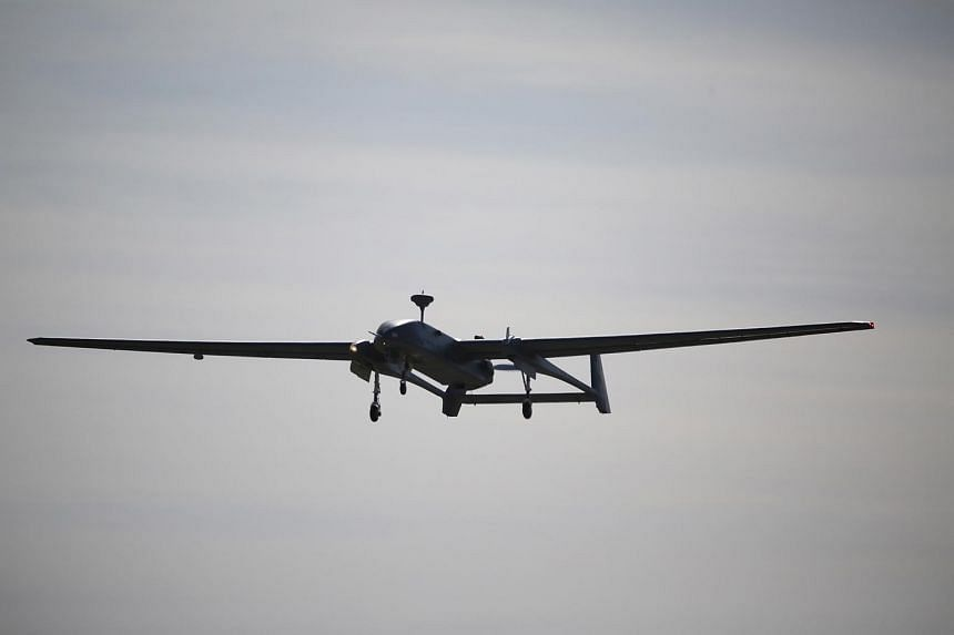 The Heron 1 unmanned aerial vehicle, which was inaugurated in 2012, is among the 33 aircraft featured in Exercise Forging Sabre.