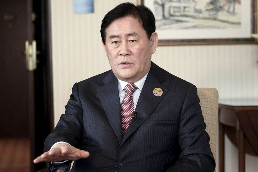 South Korean Finance Minister Choi Kyung Hwan.