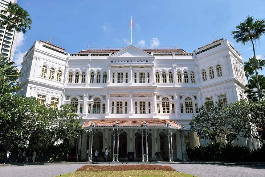 """Raffles Hotel, the iconic landmark in Beach Road, will be a """"trophy asset"""" for Accor, says hotelier and restaurateur Loh Lik Peng. Its old-world elegance and understated luxury have long resonated with travellers."""