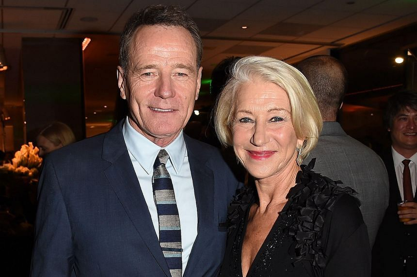 Bryan Cranston landed a best actor nomination and Helen Mirren a supporting actress nomination for Trumbo.