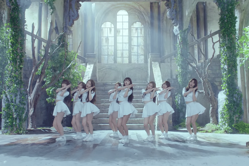 Kpop group Oh My Girl were detained at a Los Angeles airport for suspicions that they might be sex workers.