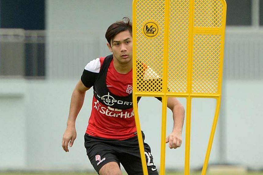 Christopher van Huizen, a promising 23-year-old midfielder, is one of six former LionsXII players snapped up by Tampines Rovers so far.