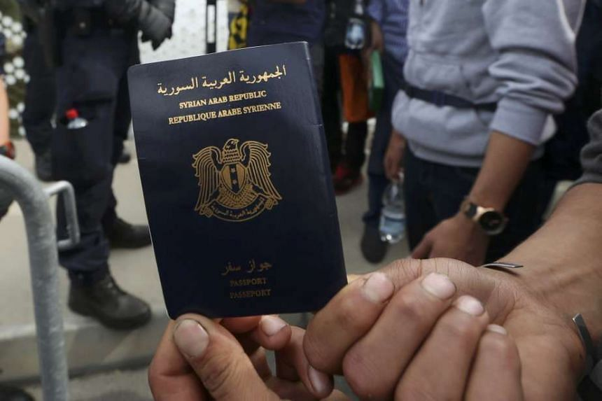 European countries have been circulating a watch list of missing Syrian and Iraqi passports.