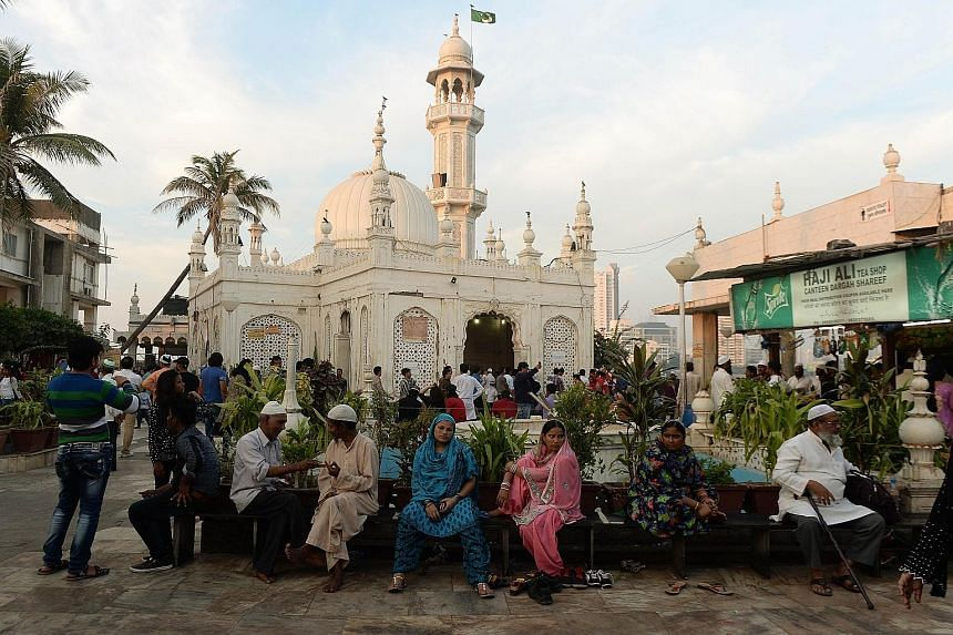 """Women have been denied entry to the mausoleum of Mumbai's Haji Ali Dargah since 2011, with its trust saying female proximity to the tomb of a saint is """"a grievous sin"""" in Islam. The mosque, built in the 15th century, is popular with not only Muslims"""