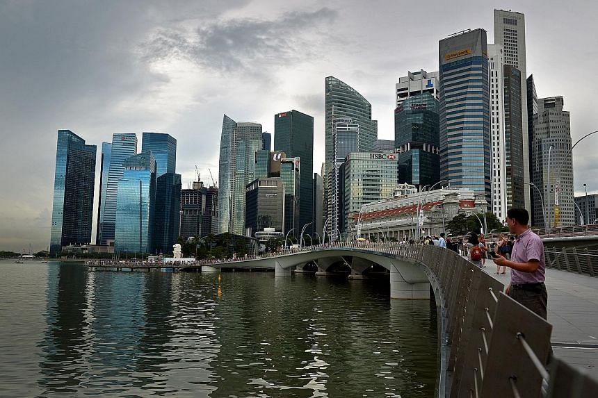 The Monetary Authority of Singapore said yesterday that Singapore's corporate debt market grew last year despite uncertainty over the slowdown in Asia and divergent monetary policies of major economies.