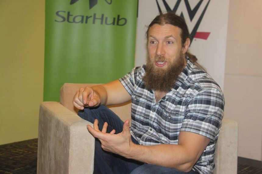 WWE's Daniel Bryan was his usual affable self at an interview on Dec 9, 2015