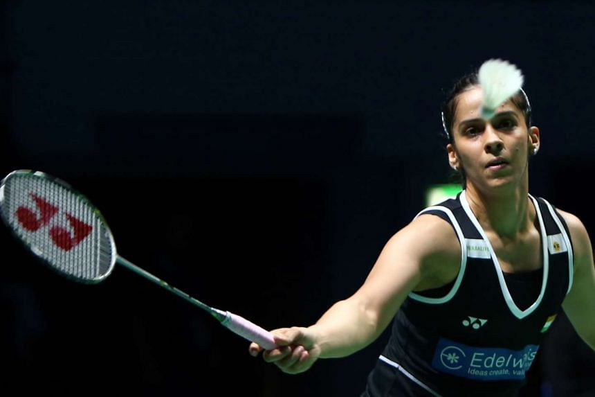 Recent injuries took their toll on India's Saina Nehwal.