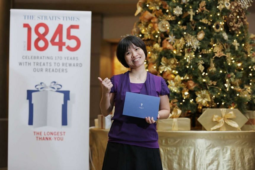 Senior payroll executive Ang May Lee gets a two-night staycation for two at Capella Singapore on Sentosa.
