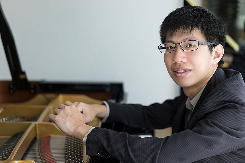 Pianist Ryan Chow is staging a solo show next year.