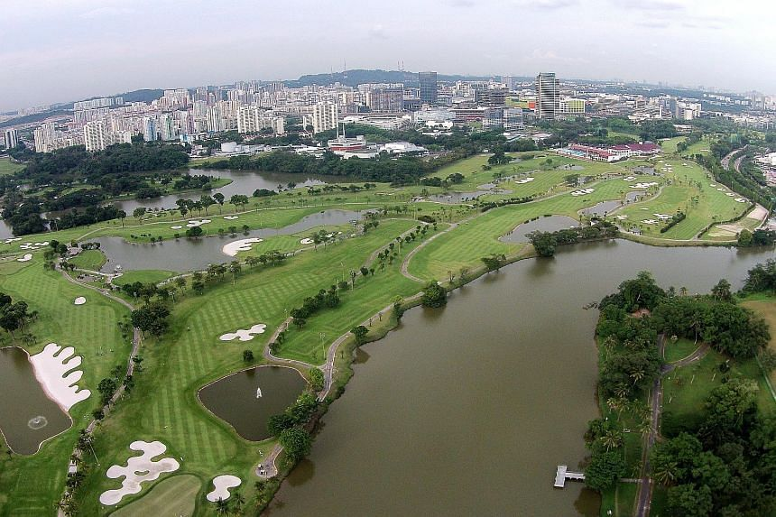 BIG GAP: The club is concerned about the gulf between the two figures and understandably some members have expressed their disappointment. - A JURONG COUNTRY CLUB SPOKESMAN, on the Singapore Land Authority's compensation award of $89.8 million for it
