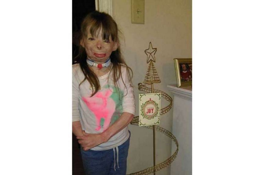 Safyre Terry's Christmas wish is to fill the card tree her aunt got for her.