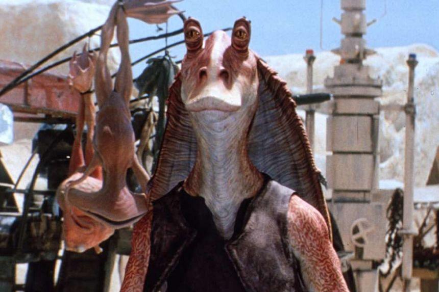Jar Jar Binks in Star Wars Episode I: The Phantom Menace.