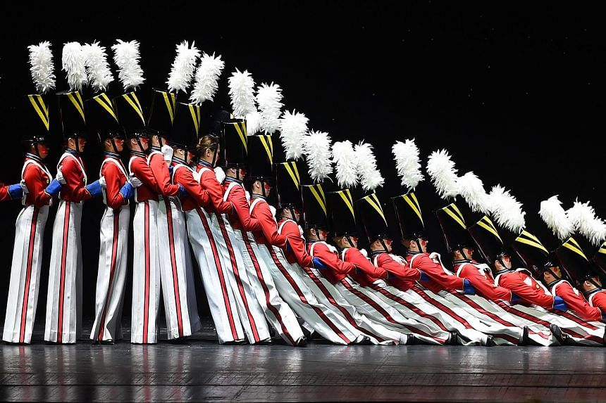 A perennial favourite by the Rockettes is The Parade Of The Wooden Soldiers (above).