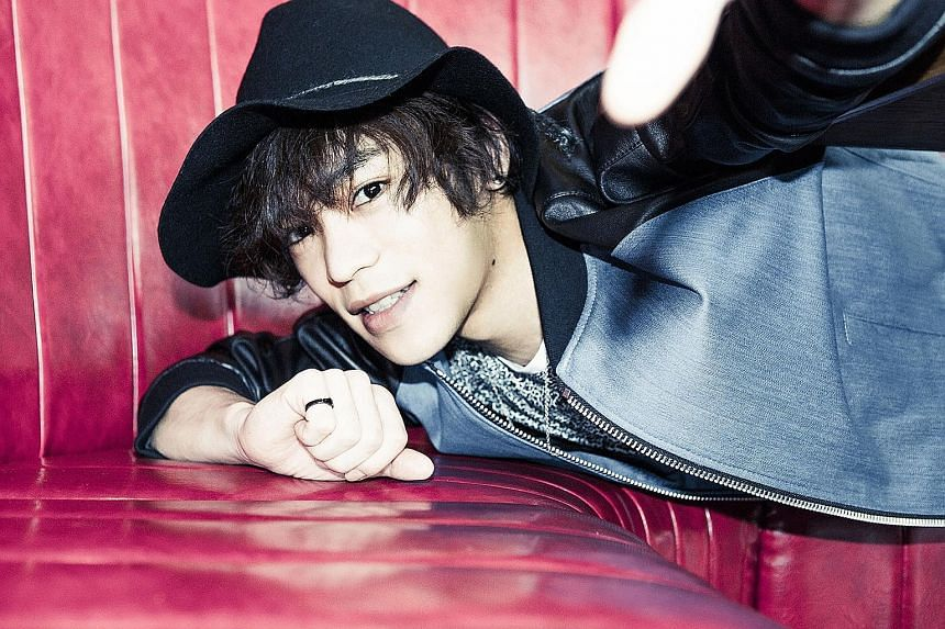 Kensho Ono sees himself first as an actor, then a singer.