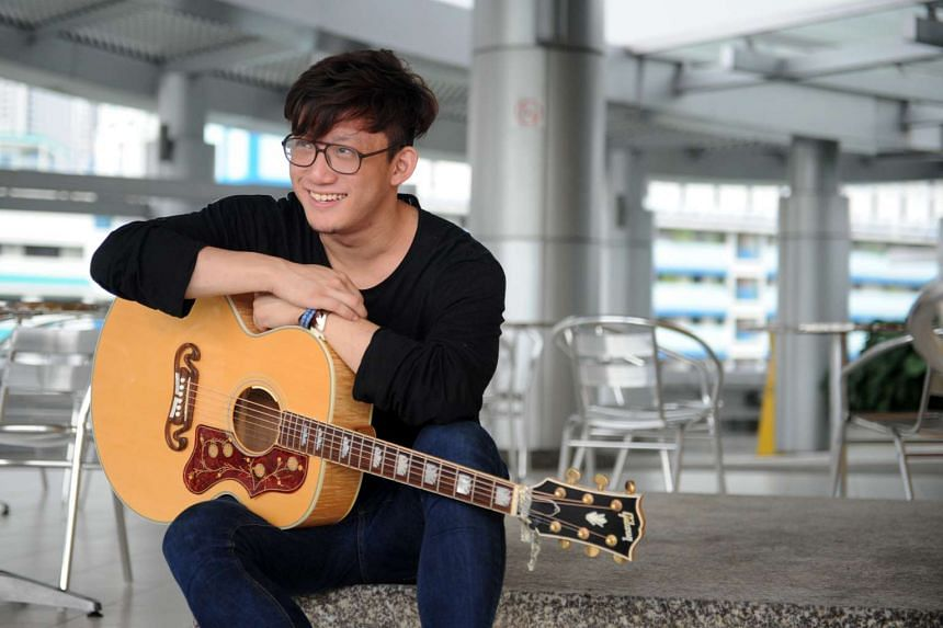 Singersongwriter Jonathan Chan writes songs inspired by people in his life.