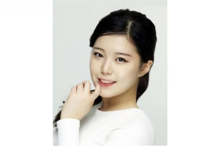 Korean actress Kang Doo Ri just started out as a television personality.
