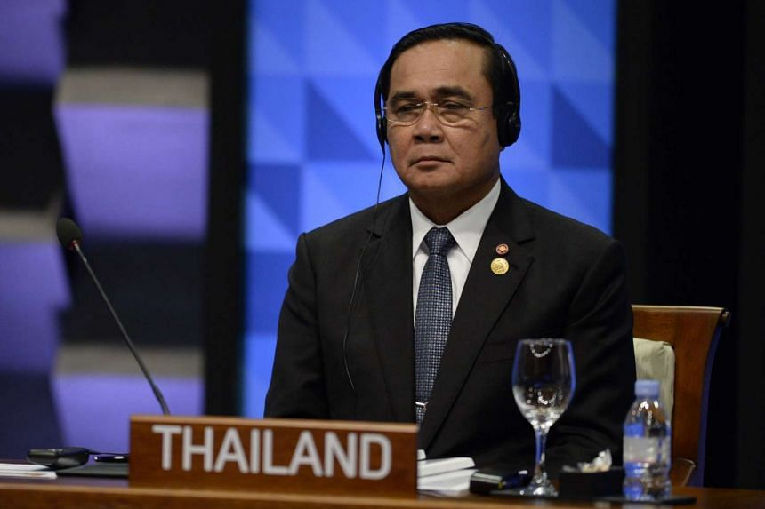 Thailand's Prime Minister Prayut Chan-O-Cha at the Apec summit in Manila on Nov 19, 2015.