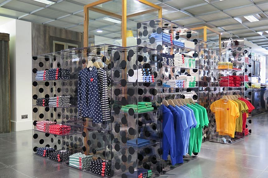 A display at Dover Street Market's London store.