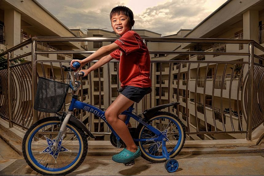 Hoh Jun Gi, 10, was diagnosed with a severe ailment when he was five months old that left his body unable to fight infections. However, things took a turn for the better when he received a cord blood transplant four months later.