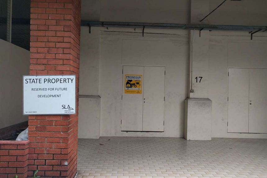Block 17 at Dempsey Road, which is shuttered and without tenants.