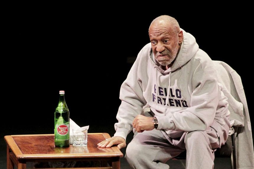 Comedian Bill Cosby performs at The Temple Buell Theatre in Denver, Colorado on Jan 17, 2015.