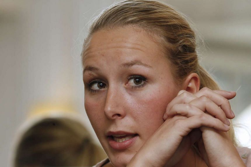 Marion Marechal Le Pen attends a news conference in Paris in October, 2015.