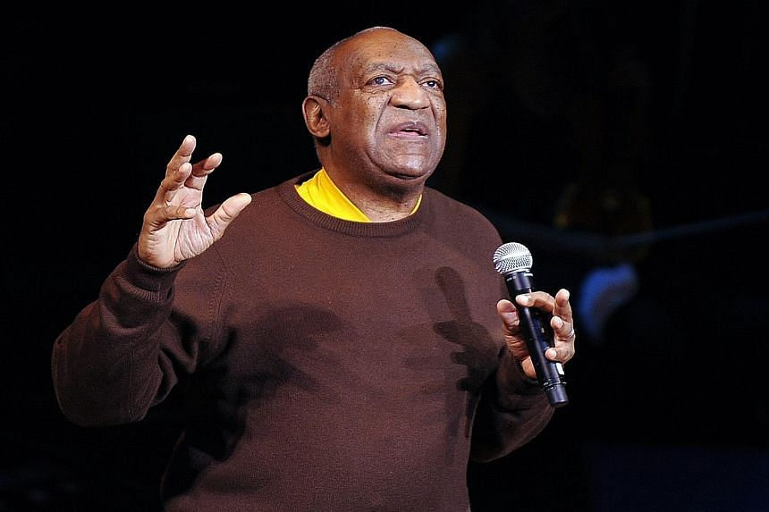 Comedian Bill Cosby (above) has denied allegations by seven women that he sexually assaulted them.