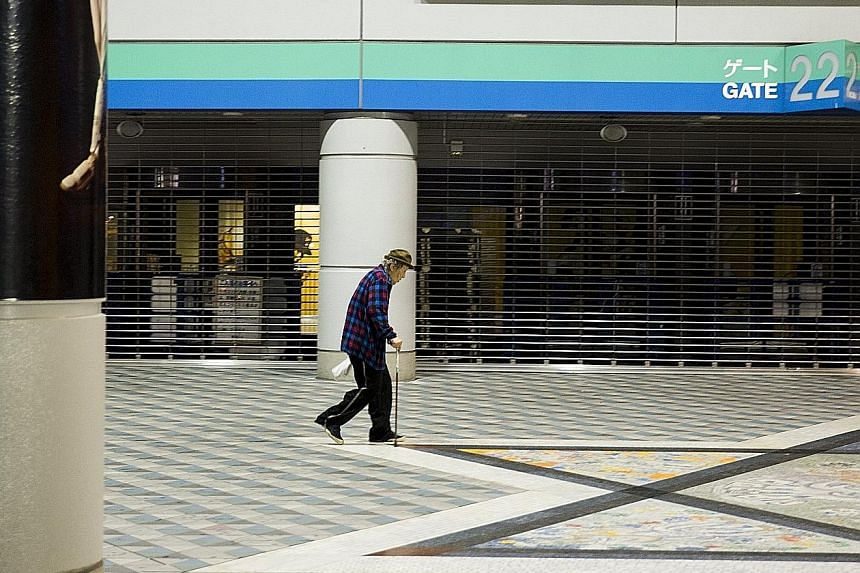 A surge in Tokyo's elderly population over the next 10 years may overwhelm urban healthcare systems, while depopulation and stagnant economies in rural Japan are set to leave nursing homes and hospitals half-empty.