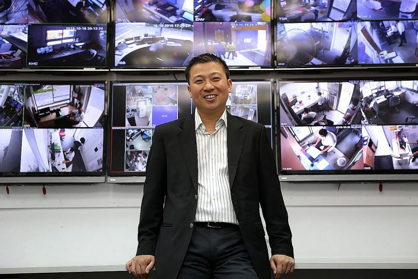 """Secura chief executive Paul Lim is unfazed about the weak stock market conditions facing the security company, saying: """"There's never a perfect time for listing. What's important is that we are ready to take Secura to the next level."""""""
