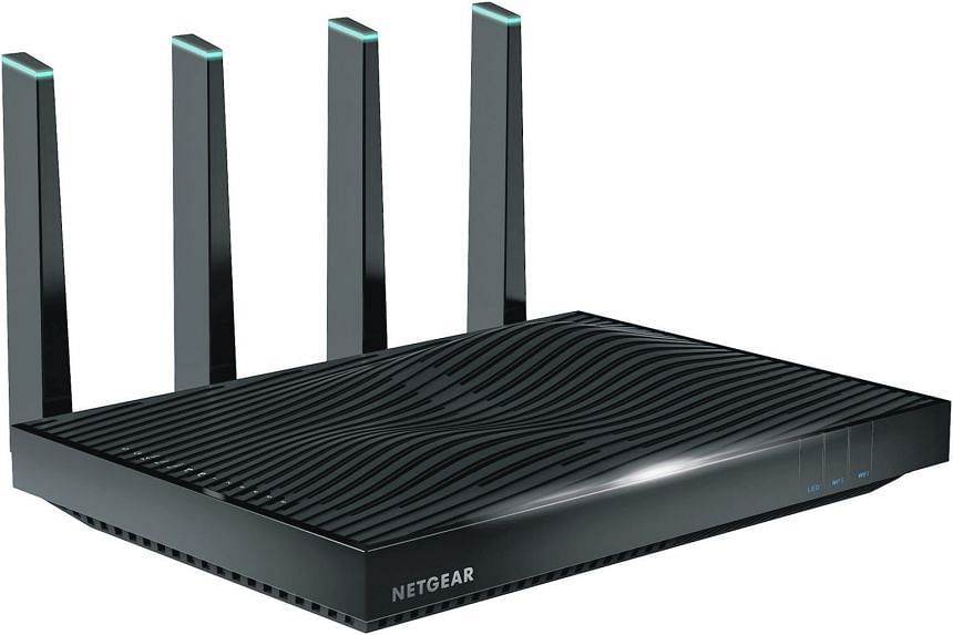 The amplifiers that boost the Wi-Fi signal are embedded in the Netgear Nighthawk X8's four antennas, which Netgear said results in a stronger and cleaner signal. The Asus RT-AC5300 has the most number of antennas on a consumer router.