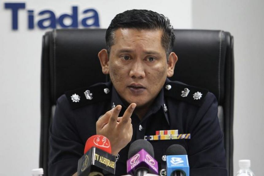 Superintendant Mohd Roy Suhaimi Sarif (above) said the man asked police to arrest, charge and send his son to a prisoner school in Malacca.