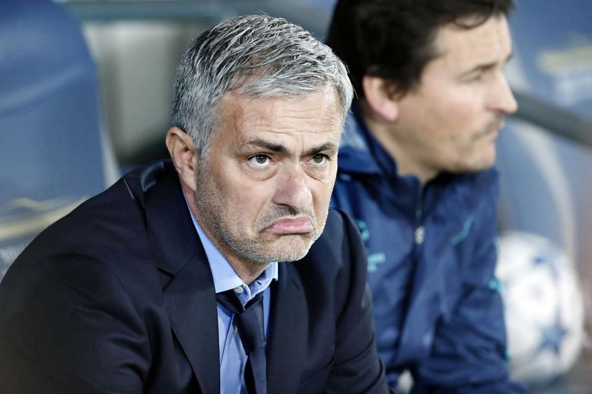Jose Mourinho during the UEFA champions league match between Chelsea and Maccabi Tel Aviv on Nov 24, 2015.