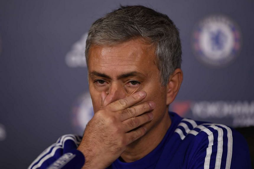Jose Mourinho during a press conference on Dec 11, 2015.