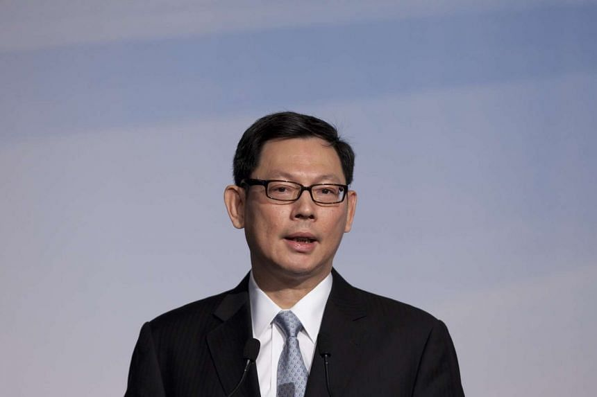 Hong Kong central bank chief Norman Chan.
