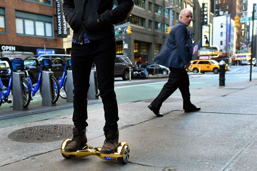 """The so-called """"hoverboard"""" is surging in popularity for the holiday season."""