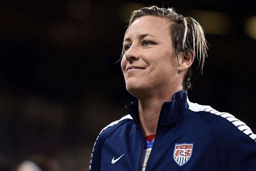 Abby Wambach (above) says that the US Soccer Federation should fire men's national head coach Juergen Klinsmann.