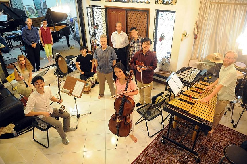 Singaporean- Australian ensemble Bridges Collective features musicians and instruments from the East and West.