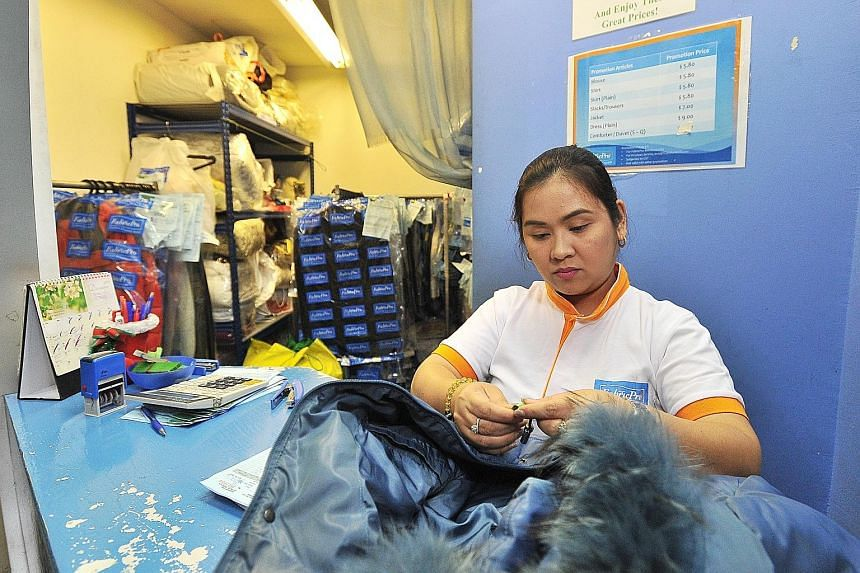 FabricPro Dryclean and Laundry Services was the only one out of the 30 laundries surveyed that had standard terms and conditions which its staff explained to customers and asked them to sign.