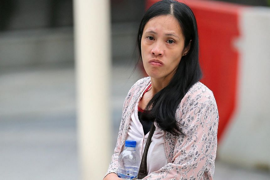 Businessman Lim Choon Hong and his wife Chong Sui Foon (left) face charges of failing to provide their maid Thelma Oyasan Gawidan (above) with adequate food, contravening the Employment of Foreign Manpower (Work Passes) Regulations 2012. According to