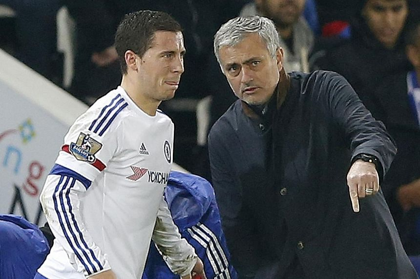 Eden Hazard suffered an injury during the 1-2 loss to Leicester and apparently substituted himself out. Mourinho's accusation that his players have betrayed him has made it clear their bond is broken and if anybody should be blamed for the loss, he w