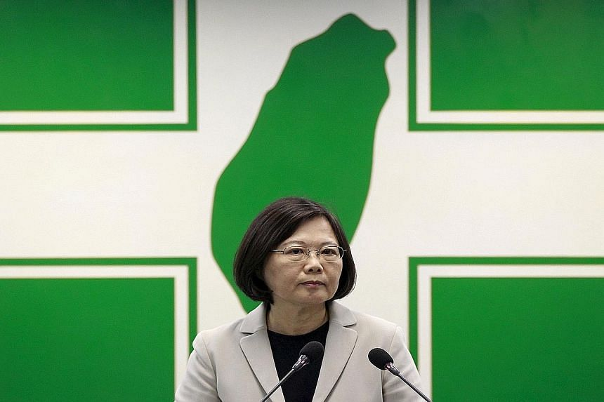 """Dr Tsai Ing-wen, leader of the independence-leaning Democratic Progressive Party, called Unigroup's takeover plans a """"huge threat""""."""